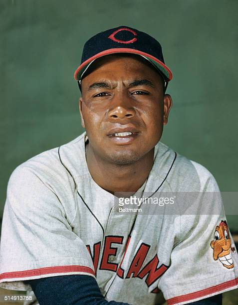 Cleveland Indians Baseball Player Larry Doby
