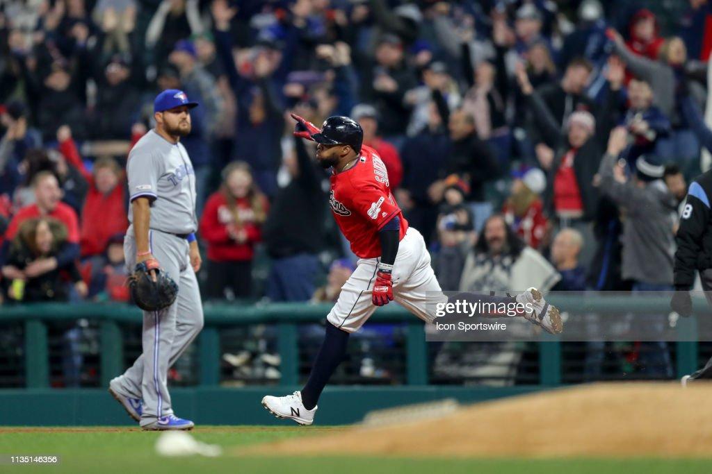 MLB: APR 05 Blue Jays at Indians : News Photo
