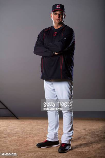 Cleveland Indians Manager Terry Francona during the Cleveland Indians photo day on Feb 24 2017 at Goodyear Ballpark in Goodyear Ariz