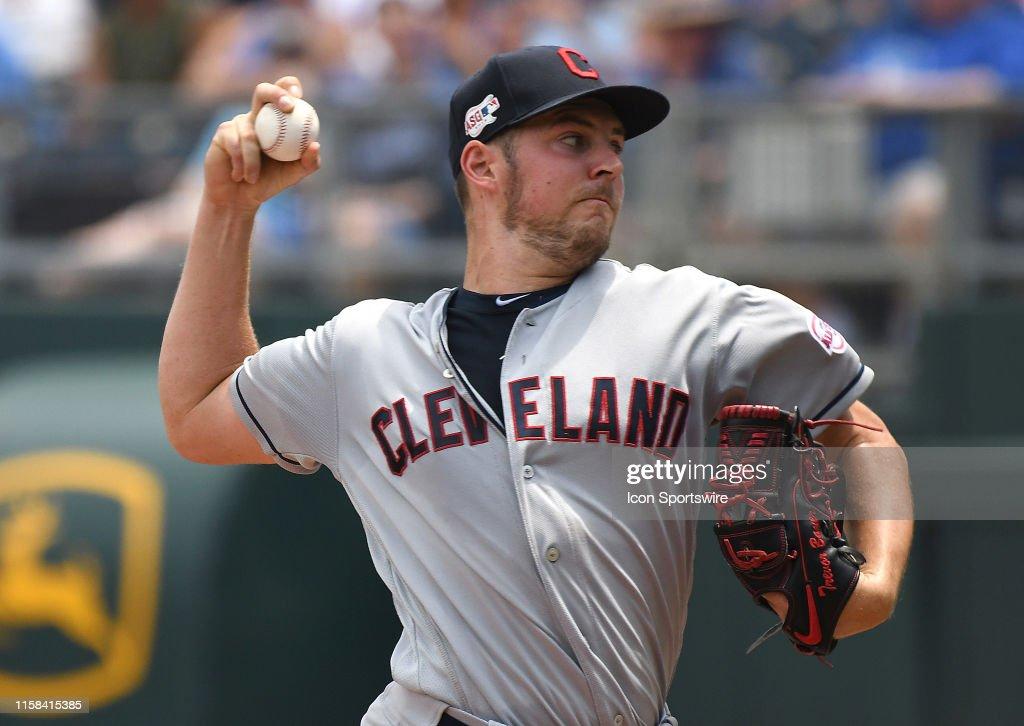 MLB: JUL 28 Indians at Royals : News Photo