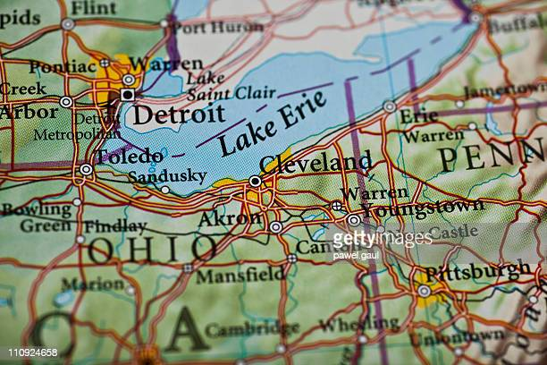 Cleveland, OH map