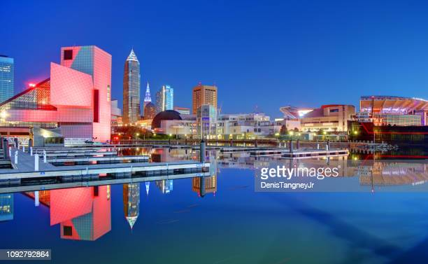 cleveland, ohio - cleveland ohio stock photos and pictures