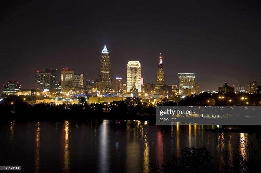 Cleveland, Ohio Skyline : Stock Photo