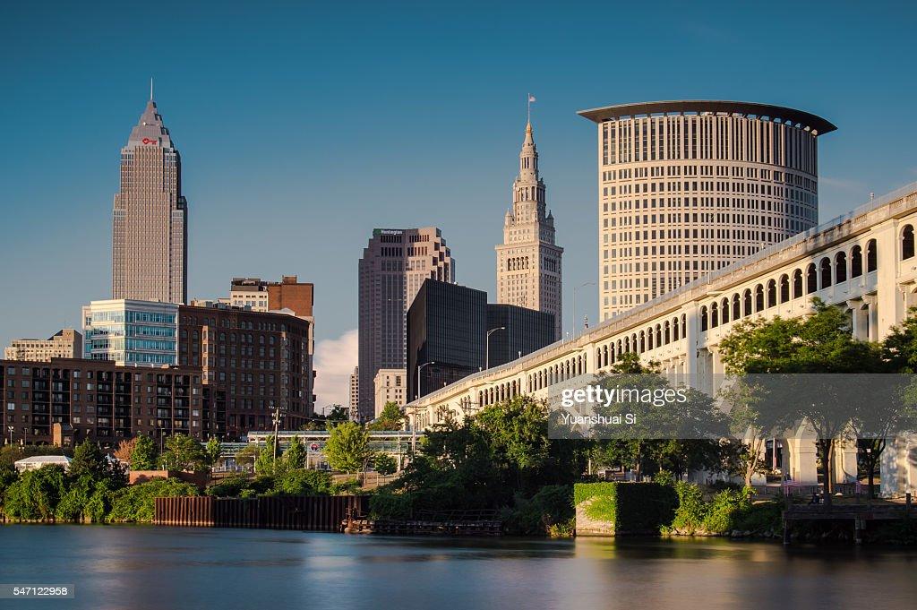 Cleveland Skyline : Stock Photo