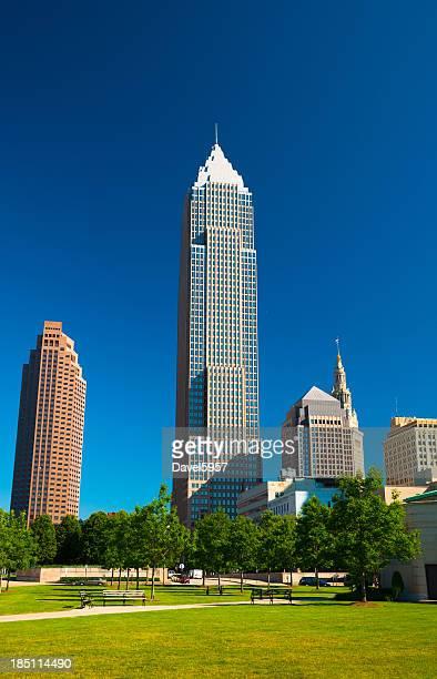 Cleveland arranha-céus, parque