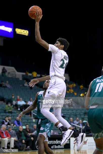 Cleveland State Vikings forward Dibaji Walker shoots during the second half of the college basketball game between the Green Bay Phoenix and...