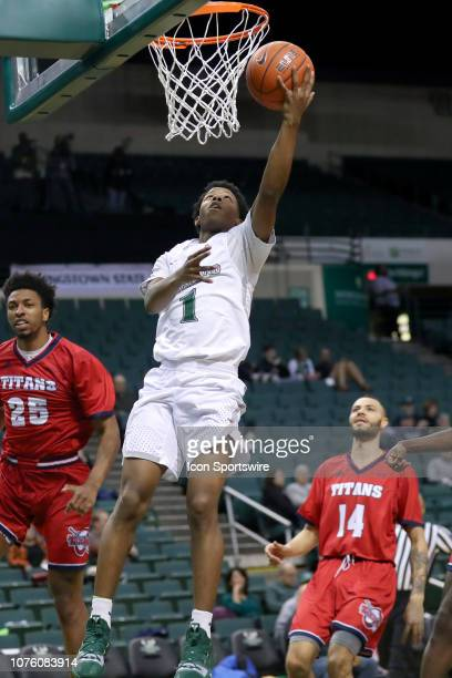 Cleveland State Vikings guard Tyree Appleby shoots during the second half of the college basketball game between the Detroit Titans and Cleveland...