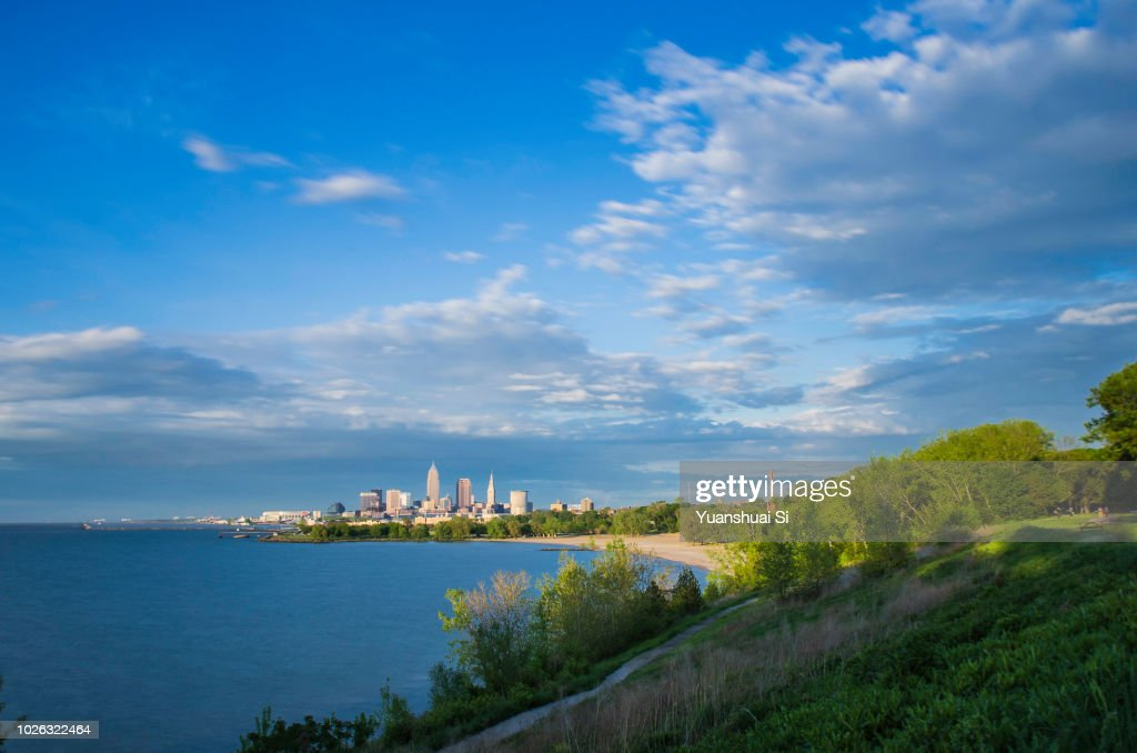 Cleveland Summer : Stock-Foto