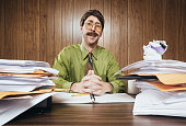 Cliche Office Salesman