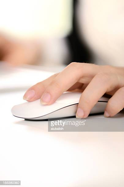 Clicking mouse