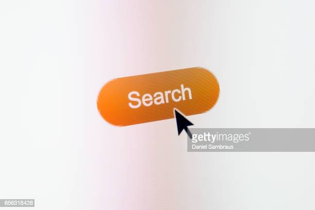 Clicking on Search web button on website
