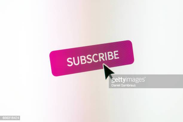 Clicking on SUBSCRIBE web button on website