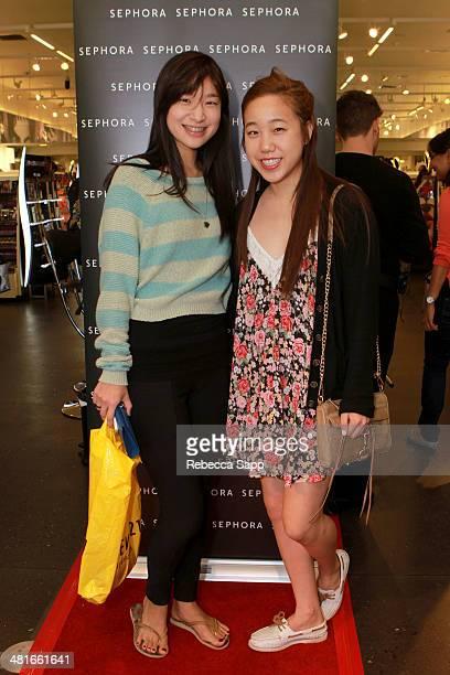 Clients attend Sephora VIB Rouge Spring Social at Sephora Santa Monica on March 30 2014 in Santa Monica California