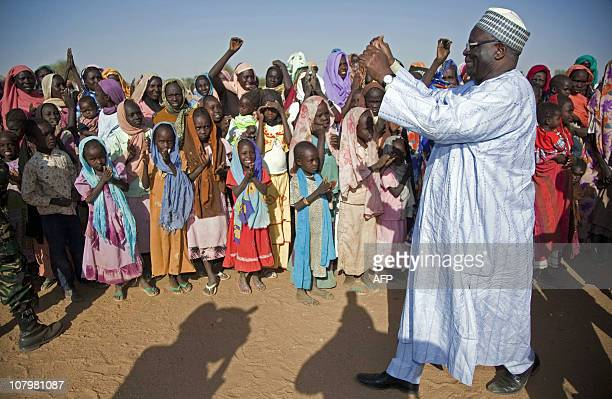 CREDIT AFP PHOTO / UNAMID NO MARKETING NO ADVERTISING CAMPAIGNS DISTRIBUTED AS A SERVICE TO CLIENTSPicture released by the United Nations Assistance...