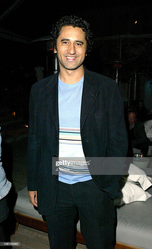 Cliff Curtis during Ian Schrager's Mondrian Hosts New Market's Pre-Oscar Party with Charlize Theron and Keisha Castle-Hughes at SkyBar in West Hollywood, California, United States.