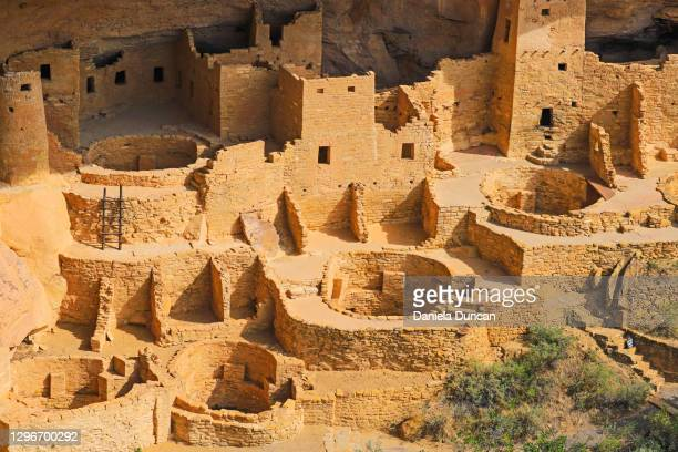 cliff dwellings close-up - anasazi ruins stock pictures, royalty-free photos & images
