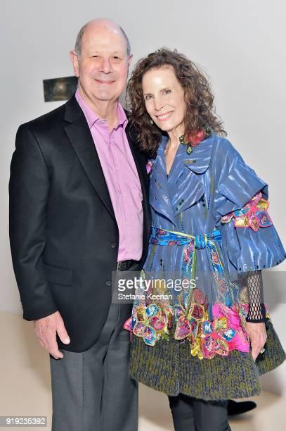 Cliff Einstein and Mandy Einstein attend Mr Chow 50 Years on February 16 2018 in Vernon California