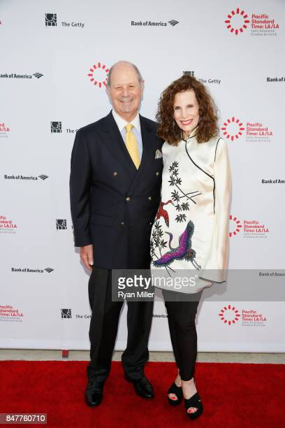 Cliff Einstein and Mandy Einstein attend the Pacific Standard Time LA/LA Opening Celebration at the Getty Museum on September 15 2017 in Los Angeles...