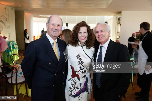 Cliff Einstein Mandy Einstein and filmmaker Jan de Bont attend the Pacific Standard Time LA/LA Opening Celebration at the Getty Museum on September...