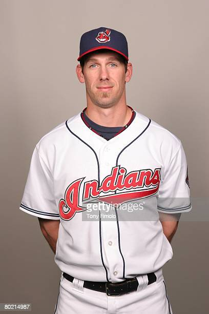 Cliff Lee of the Cleveland Indians poses for a portrait during photo day at Chain of Lakes Park on February 26 2008 in Winter Haven Florida