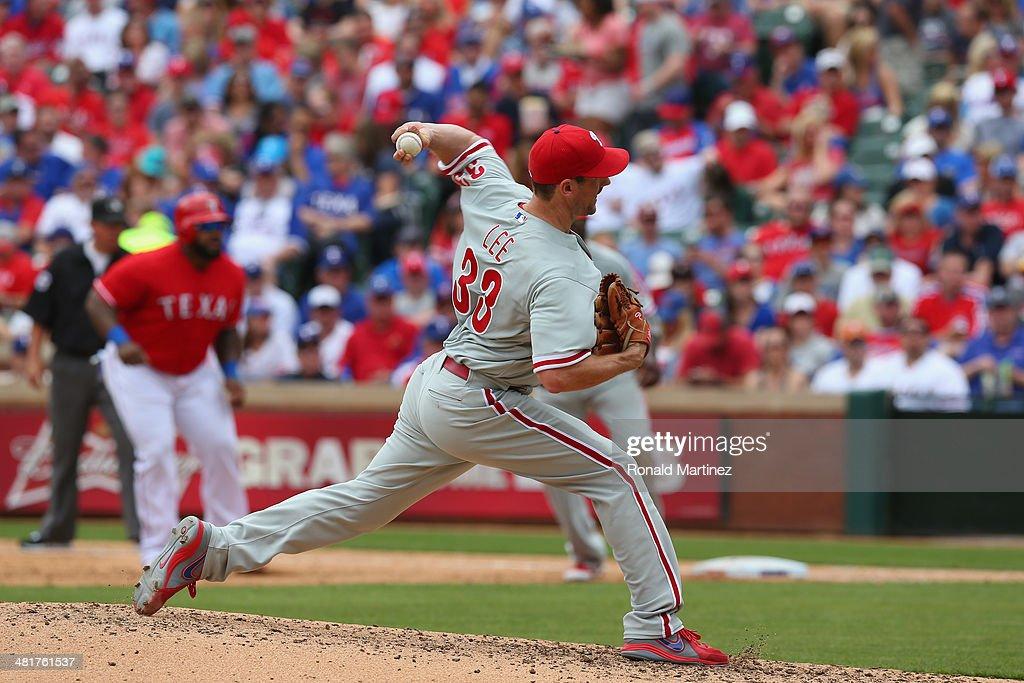 Philadelphia Phillies v Texas Rangers : News Photo