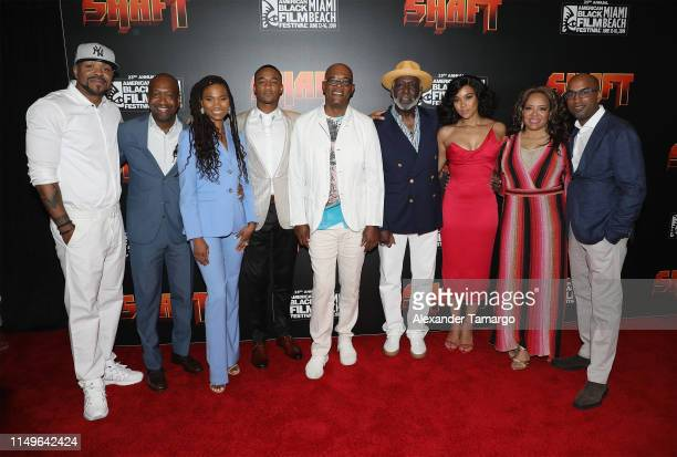 "Cliff ""Method Man"" Smith, Jeff Friday, Nicole Friday, Jessie T. Usher, Samuel L. Jackson, Richard Roundtree, Alexandra Shipp, Luna Lauren Velez and..."