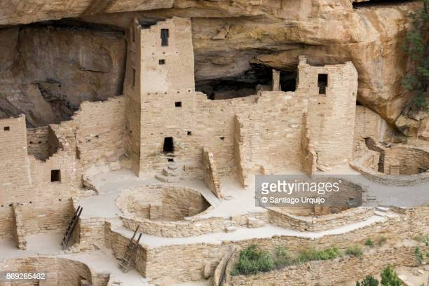 Cliff Palace dwelling in Mesa Verde National Park