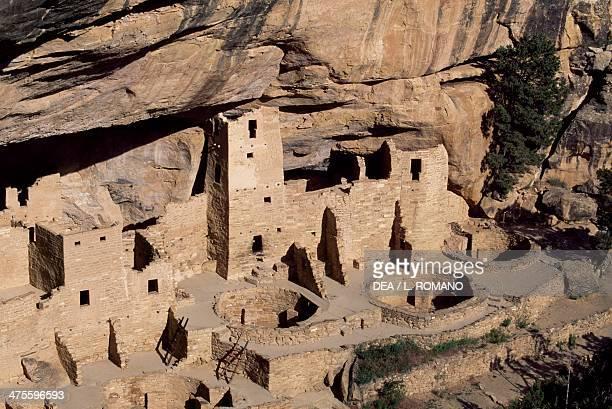 Cliff Palace, Mesa Verde National Park , Colorado, United States. Anasazi Civilisation.