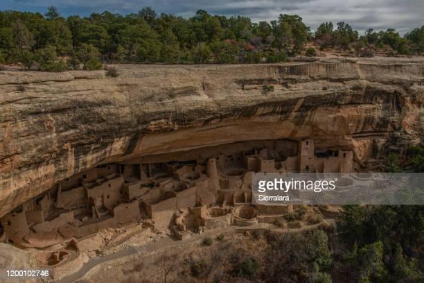 cliff palace, mesa verde national park, colorado, usa - pueblo colorado stock pictures, royalty-free photos & images