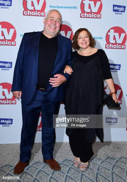 Cliff Parisi and Annabelle Apsion attending the TV Choice Awards 2017 held at The Dorchester Hotel London PRESS ASSOCIATION Photo Picture date Monday...
