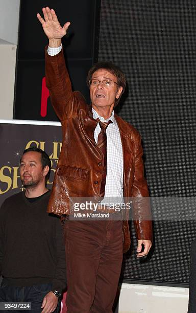 Cliff Richard attends DVD signing at HMV Oxford Street on November 30 2009 in London England