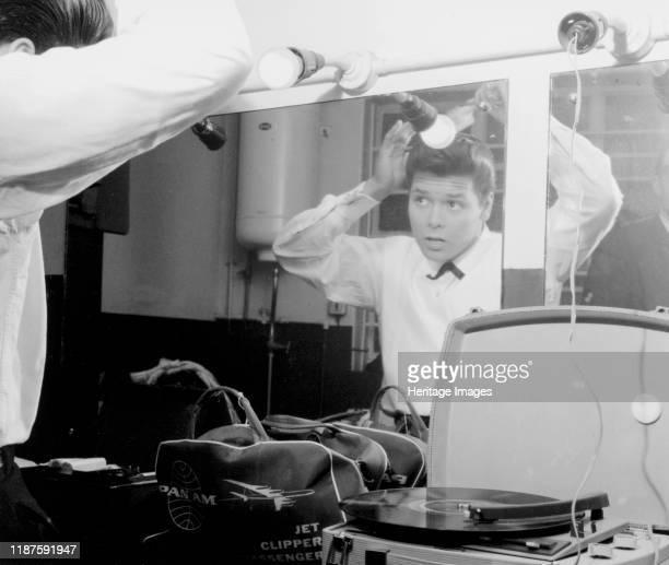 Cliff Richard, circa 1958. Artist Brian Foskett.