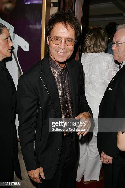 Cliff Richard during 'Daddy Cool' World Premiere at Shaftesbury Theatre in London Great Britain