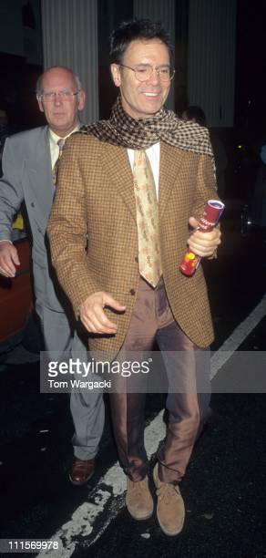 Cliff Richard during Opening Night of 'Oklahoma' The Musical January 2 1999 in London Great Britain