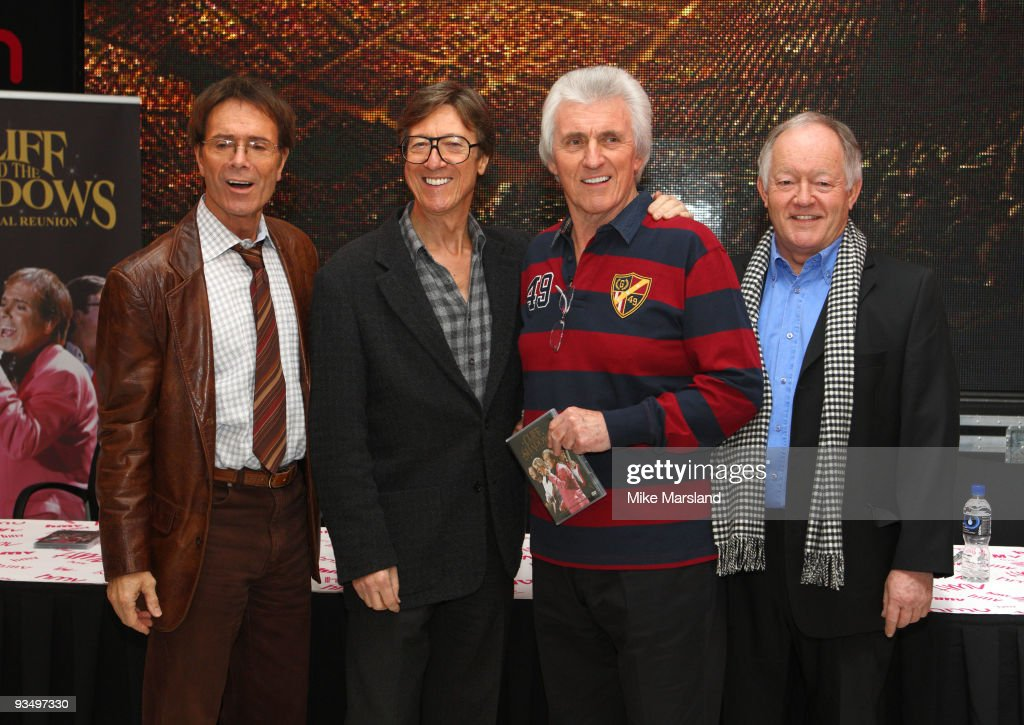 Cliff Richard And The Shadows - DVD Signing