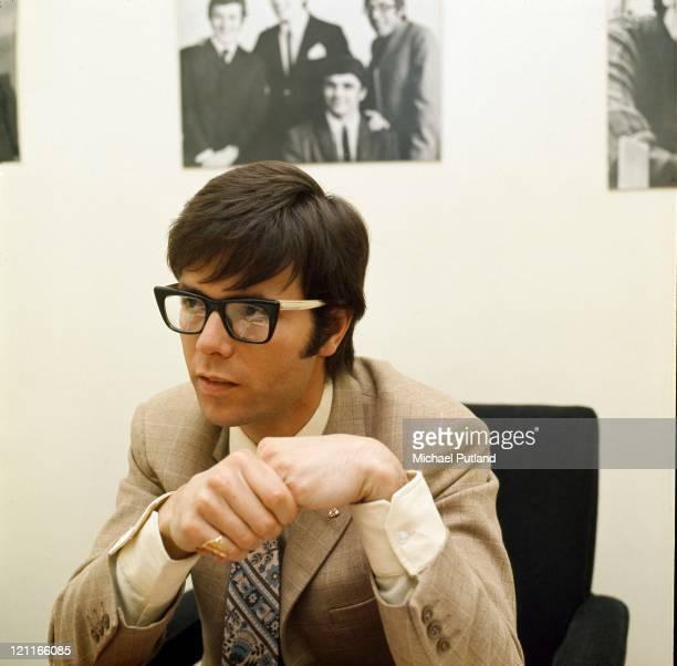 Cliff Richard portrait during interview London 1971