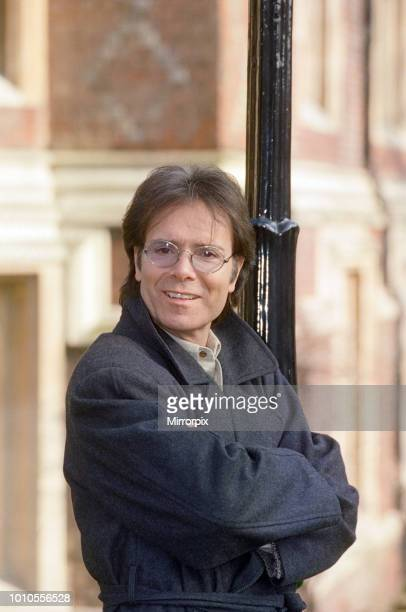 Cliff Richard promoting 'Heathcliff' a unique staged concert combining theatre and music 21st February 1994