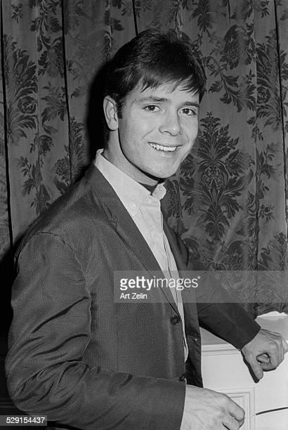 Cliff Richard smiling closeup circa 1970 New York