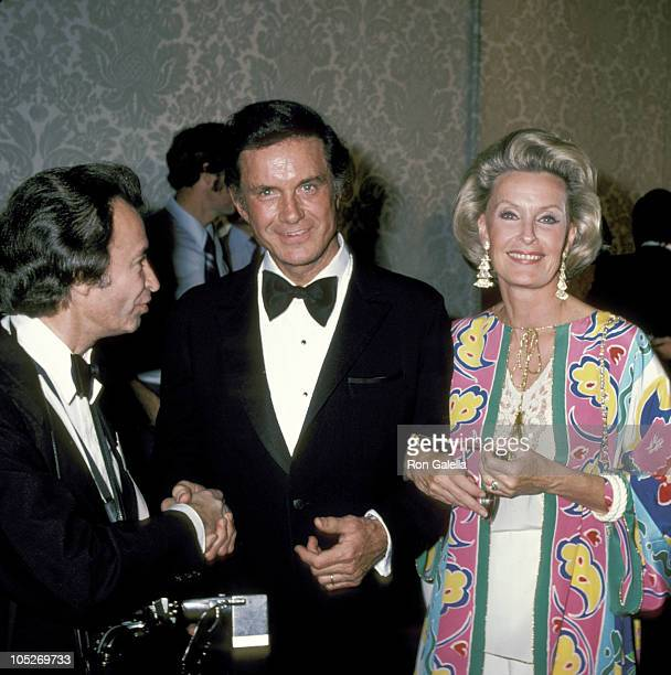 Cliff Robertson and Dina Merrill during 39th Annual Golden Globe Awards at Beverly Hilton Hotel in Beverly Hills California United States