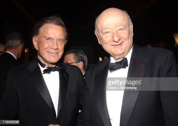 Cliff Robertson and Former NYC Mayor Ed Koch during Official Academy of Motion Picture Arts and Sciences Oscar Night Party at Le Cirque 2000 in New...