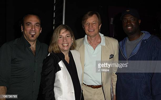 Cliff Rothman Robin Bronk Michael York and Antwone Fisher