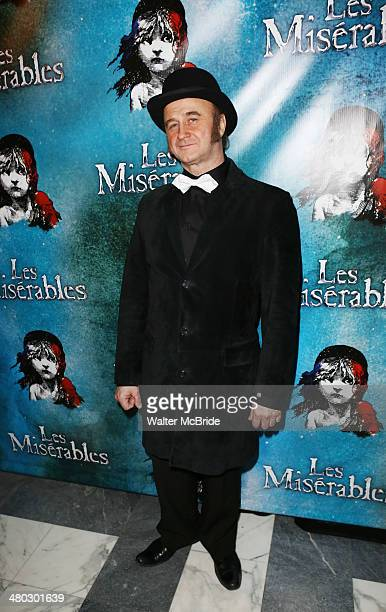 Cliff Saunders attends the Broadway Opening Night After Party Reception for Les Miserables at The Imperial Theater on March 23 2014 in New York City