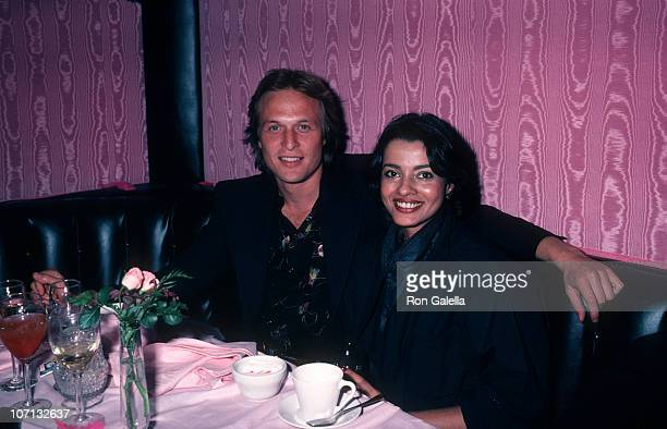 Cliff Taylor and Persis Khambatta during Persis Khambatta and Cliff Taylor Sighting at La Cage Aux Folles April 20 1981 at La Cage Aux Folles in West...