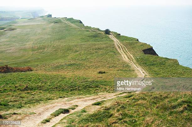 UK Cliff Top and Sea View