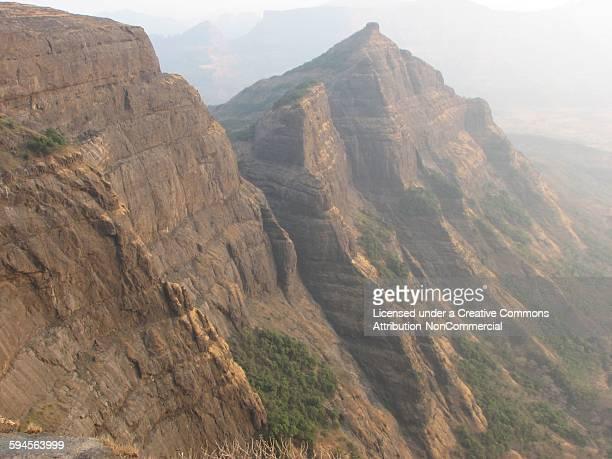Cliff towards Kokan from Harishchandra gad
