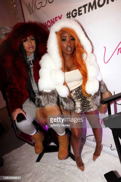 Cliff Vmir and Brittney Taylor attend A Conversation With Cliff Vmir Hosted By Nyla Symone on January 16 2019 in New York City