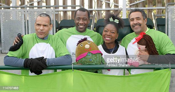 Clifford Brooks Sydney Sloane Floella Benjamin and Daley Thompson