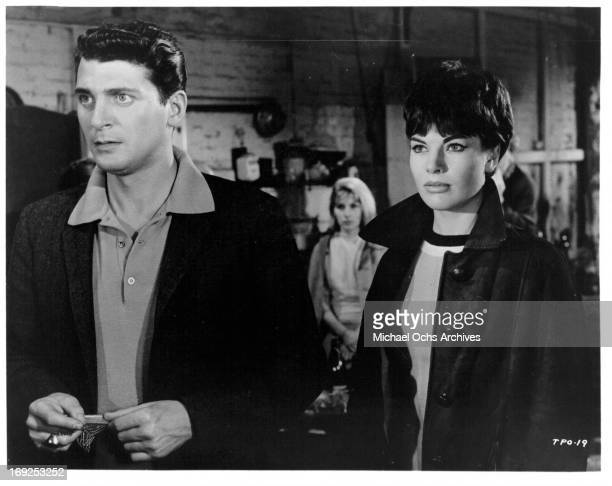 Clifford David and Louise Sorel in a scene from the film 'The Party's Over' 1965 Photo by Allied Artists/Getty Images