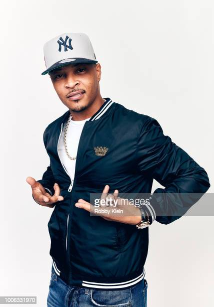 Clifford Joseph 'TI' Harris Jr of BET Network's 'The Grand Hustle' poses for a portrait during the 2018 Summer Television Critics Association Press...