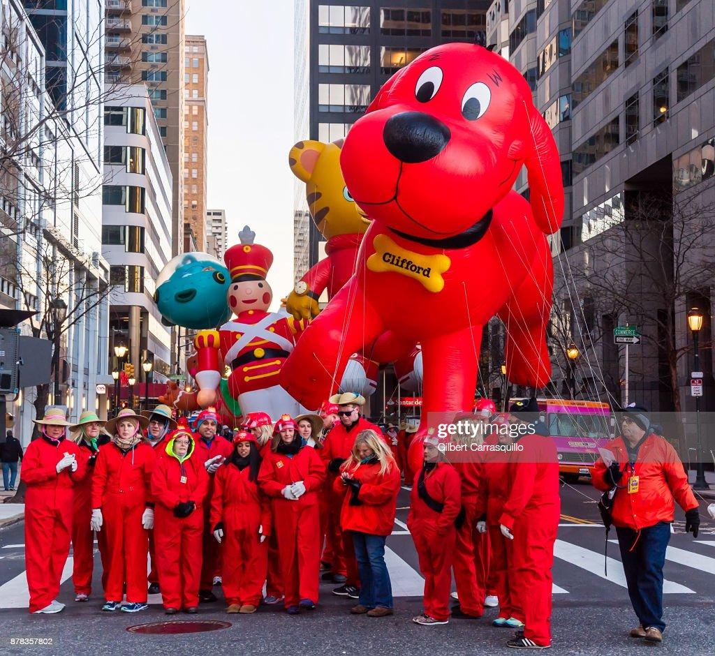 Philadelphia Thanksgiving Day Parade : News Photo
